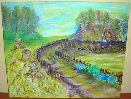 Galeria Sztuki Malarstwo Plastyka Anna Szpecińska Obraz Akrylowy